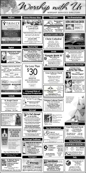 Worship Guide 10/18/14